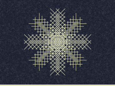 Snowflake snowflake lines