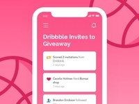 Two Dribbble Invites :)