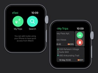 iWatch - Taxi Concept