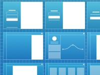 Wireframes for hr CRM system
