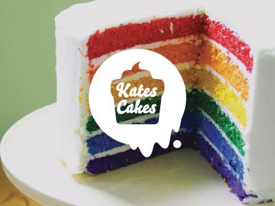 Kates Cakes kate cake yummy food dessert logo branding brand awesome woodbridge