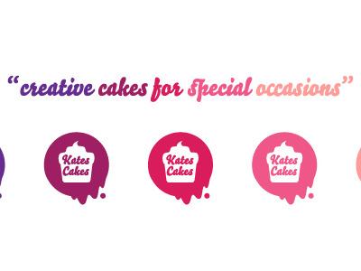 Kates Cakes logo cake cooking cook kate