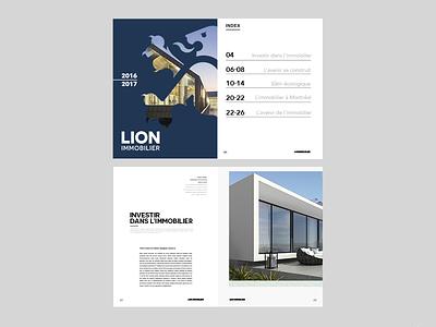 1_October_2016_Cilabstudio éditorial branding immobilier logo lion