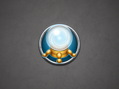 Part of the witchcraft icon kit (Mystic ball) illustrator photoshop icon ui mystic ball magic witchcraft