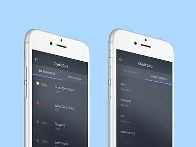 payment reminder app freelance inspiration ui mobile app reminder bills payment