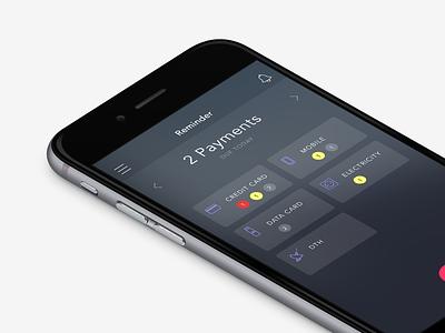 payment reminder app freelance ui bills payment mobile app