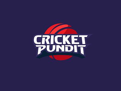 CricketPundit logo design identity logo