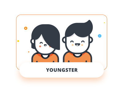 Young freelance money app youngster