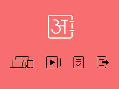 Web icons icons web