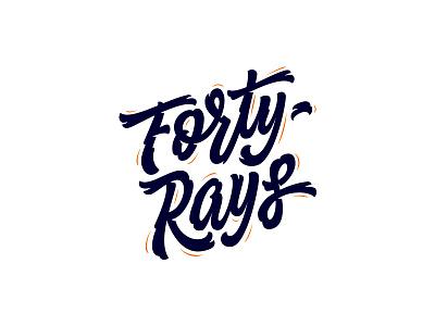 40 Rays rays forty streetwear