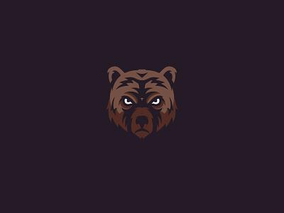 Bear face illistration animal animal logos animal logo bear illustration logo bear head bear logo bear
