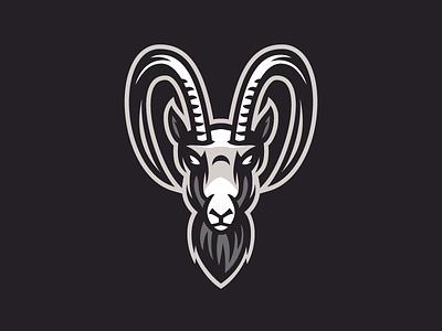 Mountain goat mascot logo mascot face logo animal animal logo goat mountain goat