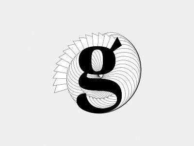 Letter g for #36daysoftype branding logo icon graphic design adobe illustrator affinitydesigner design illustration customtype typography