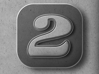 "36DAYSOFTYPE ""2"" affinitydesigner icon adobe illustrator branding 3d art photoshop adobe illustration graphicdesign customtype design typography"