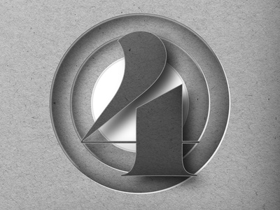 "36DAYSOFTYPE ""4"" vector photoshop adobe illustrator affinitydesigner customtype graphicdesign branding typography design"