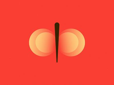 Butterfly branding vector illustration affinitydesigner design