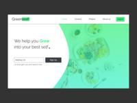 GreenLeaf Landing page
