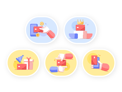 creditcard vector gui animation icon icongraphy hand card illustrator 2d promotion artwork illustrations creditcard