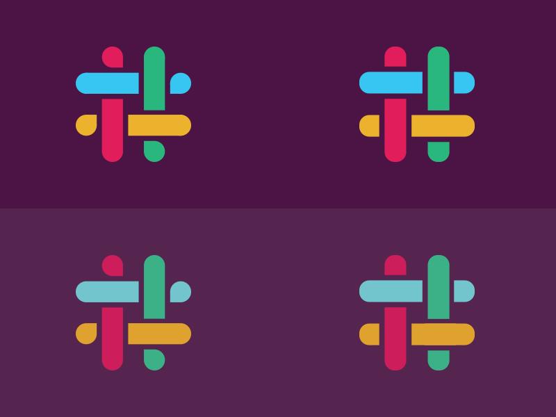 Slack Re-Design Concept branding design concept re-design logo slack