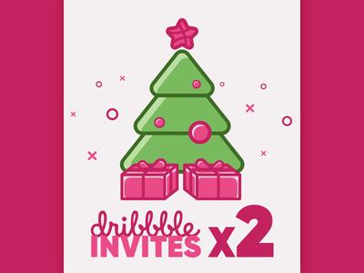 Two Dribbble Invites