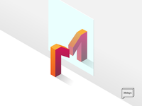 M is for Mirror - 36 days of type