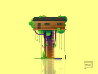 T is for TreeHouse - 36 Days of Type