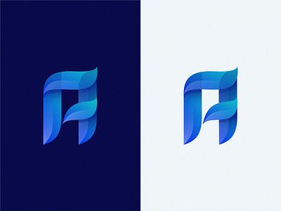 A letter identity sign yuro illustration design brand symbol icon logo