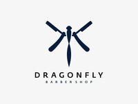 Dragonfly barber / logo idea
