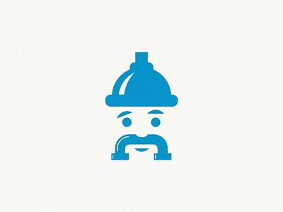 plumber design brand symbol icon logo plumber
