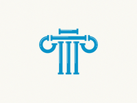 Plumbing / pipes + column