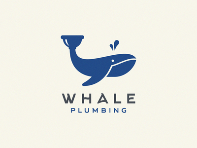 whale plumbing plumbing whales whale logo whale