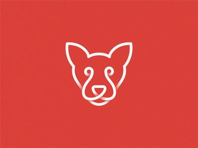 dog dog logo line dogs dog