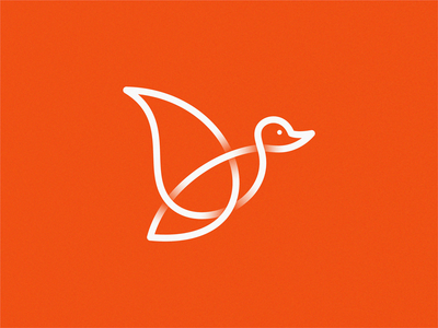 duck line art line duck logo duckling duck