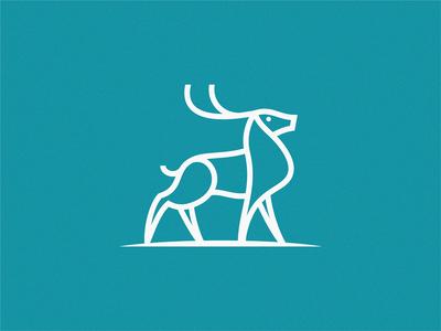 deer deer logo deer