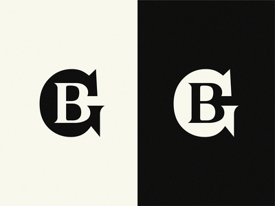 GB mark gb minimal monogram logo