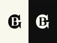 GB mark gb minimal monogram logo