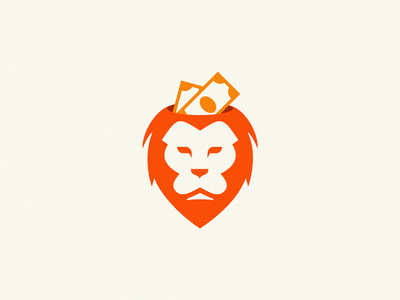 lion cash lion head cash lion logo lion