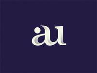 monogram au monogram design monogram logo monogram au