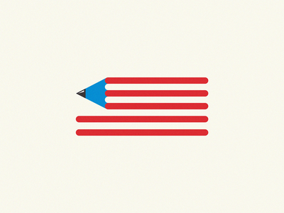 American art pencil art american flag american