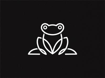 frog frog prince line frog logo
