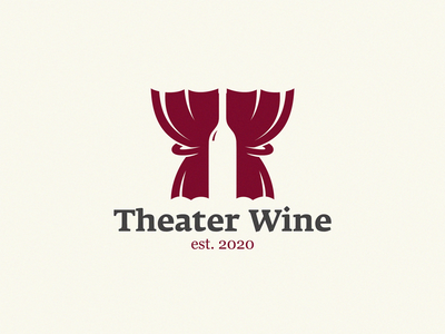 Theater Wine backstage curtains bottle wine label wine theater design theater