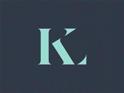 KL monogram monogram logo