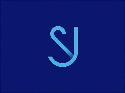 SJ sign identity letter branding logo symbol brand design vector sj monogram logo monogram letter mark