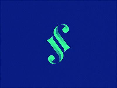 SJ monogram monogram letter mark monogram design monogram logo sj