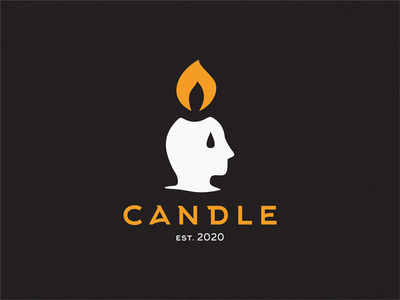 candle head candles candle