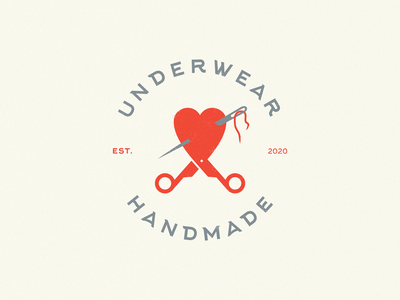 Underwear handmade girls women thread needle scissors heart handmade underwear