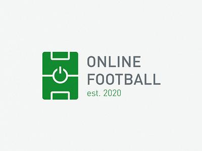 football online online shop power football logo online football club football