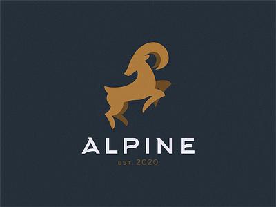 alpine goat goat alpine