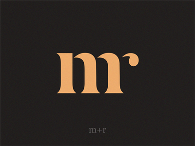 mr lettermark mark monogram design monogram monogram logo