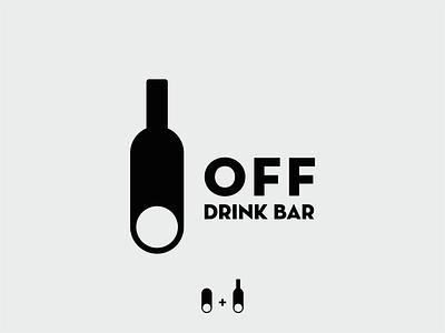 OFF / Drink bar bar drinks drink drink menu drinking off